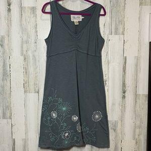 Aventura Gray V-neck Tank Dress